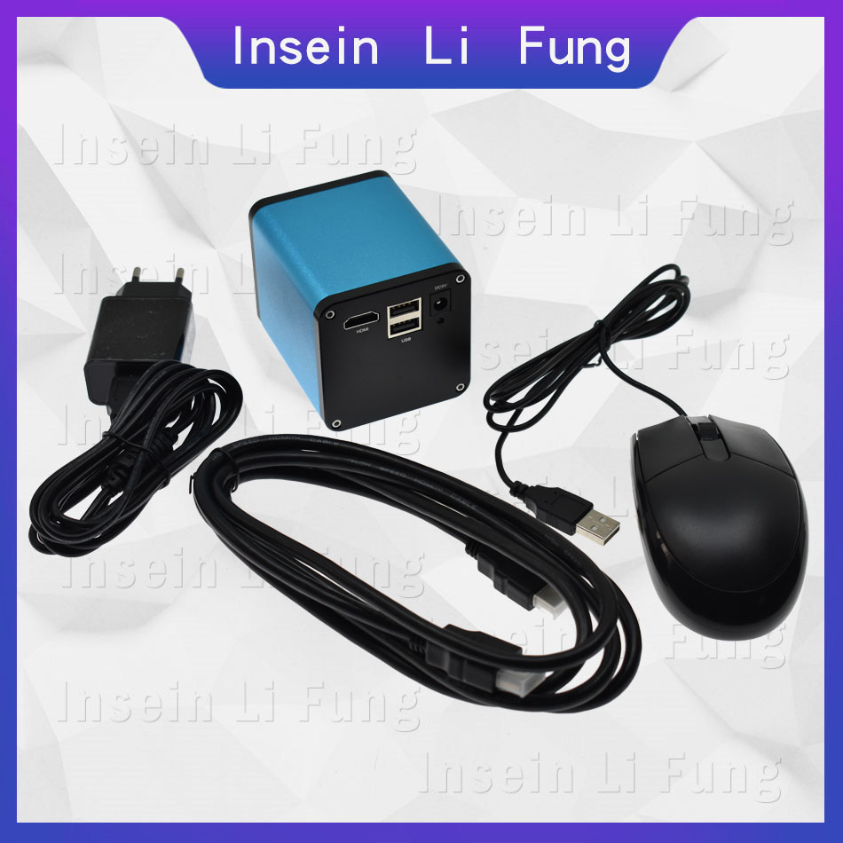 2019 Full HD 1080P 60FPS Industry Autofocus SONY IMX290 Video Microscope Camera U Disk Recorder CS C Mount For SMD PCB Soldering