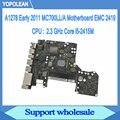 2.3GHz Core i5-2415M Logic Board Voor Macbook Pro 13