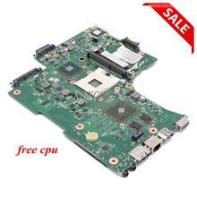 Nokotion v000218130 placa principal para toshiba satélite l650 l655 computador portátil placa-mãe hm55 ddr3 gráficos discretos