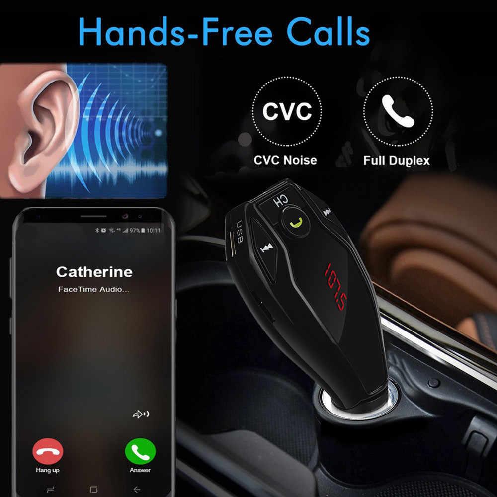 OMESHIN Беспроводной Bluetooth Автомобильный MP3-плеер Dual USB Зарядное устройство автомобиля аудиомодулятор автомобиль аудио приемник Apl26