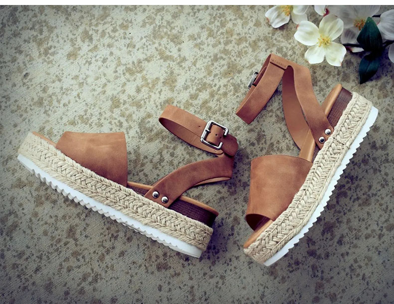 Women High Heels Sandals Summer Shoes Flip Flop Chaussures Femme Platform Sandals 41
