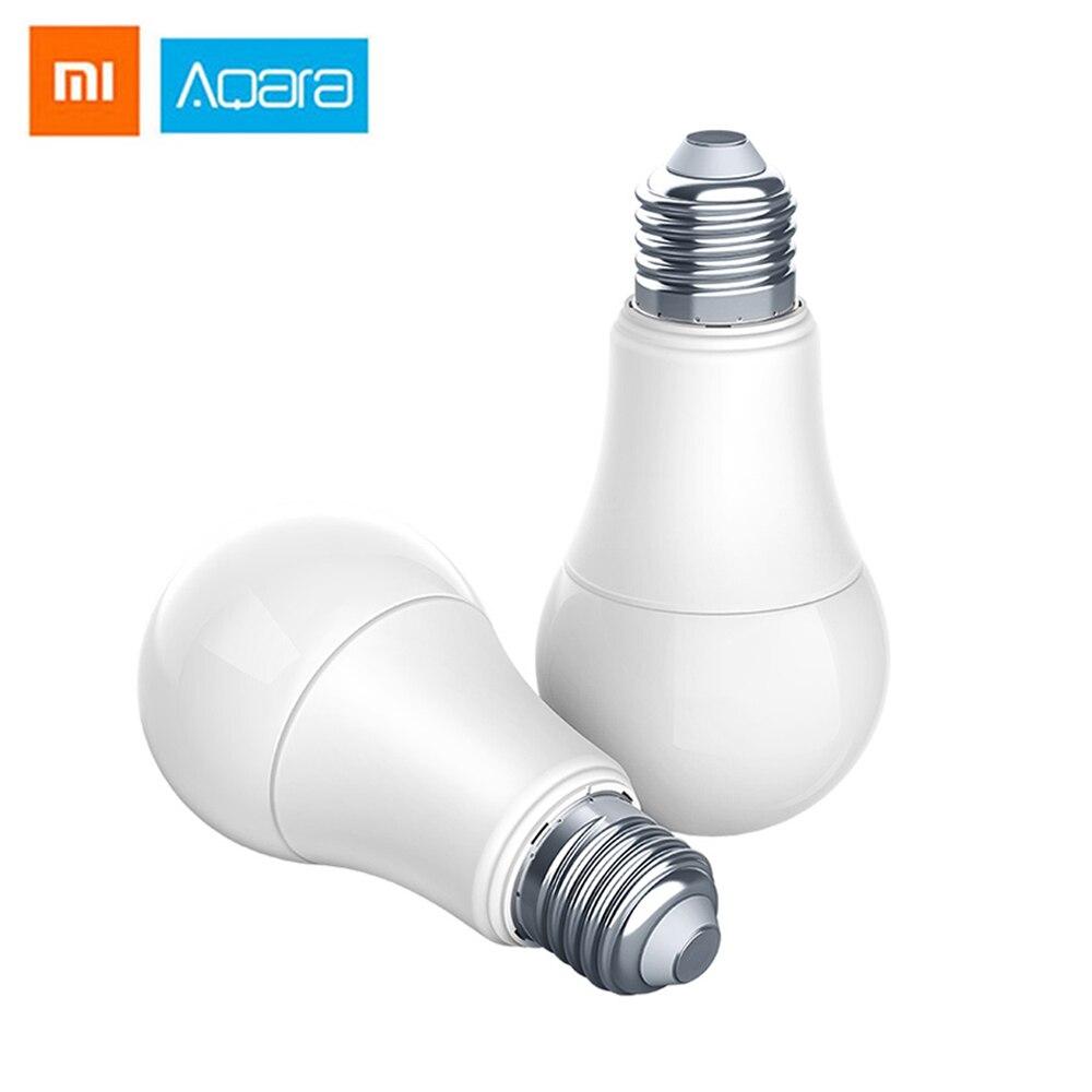 Aqara znldp12lm led inteligente lâmpada zigbee controle remoto conexão sem fio luz inteligente lâmpada led dispositivo de controle inteligente app