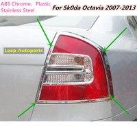 For Sk0da Octavia 2007 2008 2009 2010 2013 Car Styling Rear Tail Back Light Lamp Detector
