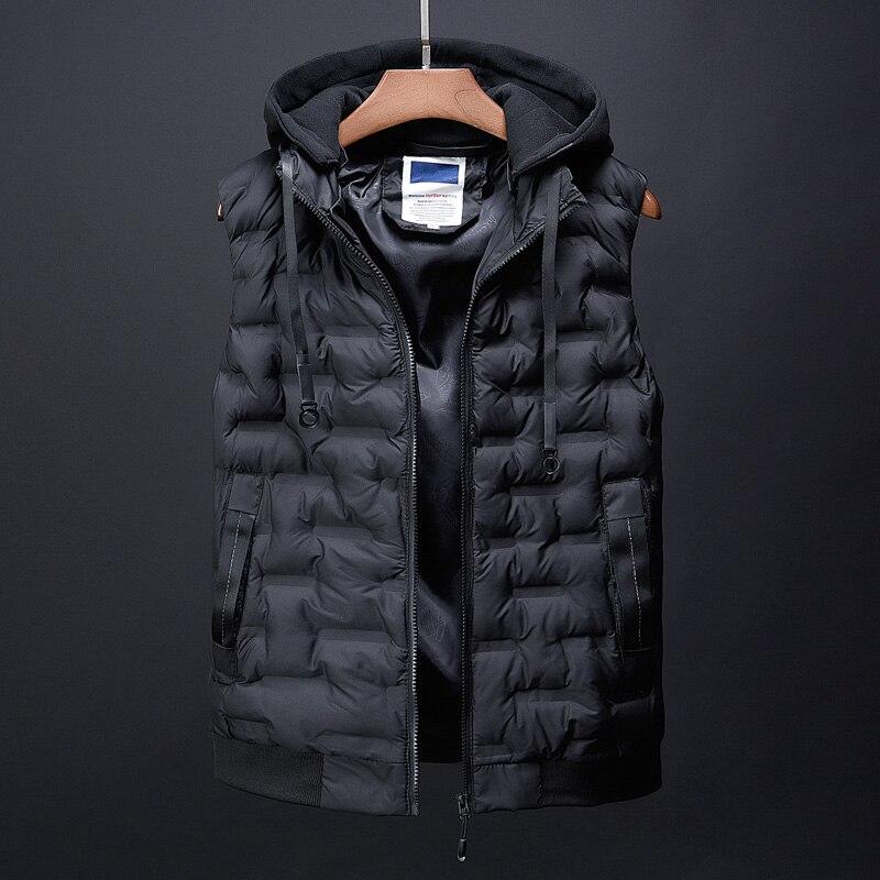 fashion men\`s clothing korean men down jacket coats winter warm vests designer male casual suits dress boys canada vest for men (4)