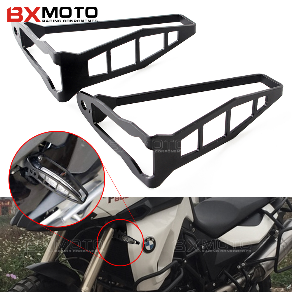 Motorcycle Turn Signal Light Cover Indicator Guard Protection Shields fairing For BMW R1200GS R1200 GS S1000R S1000RR HP4 F800R motorcycle abs turn signal light lamp button housing cover guard protector for bmw r1200gs r1200 gs adv r1200rt r 1200rt