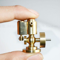 CNC Copper Mini Single Cylinder Steam Engine Model Toy Boy Birthday Christmas Gift