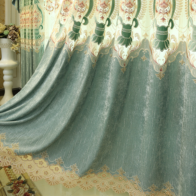 FYFUYOUFY Upmarket Curtains For Living Room Embroidered Tulle And Curtain  For Bedroom Soft Blackout Curtains For Window Hot Sale In Curtains From  Home ...