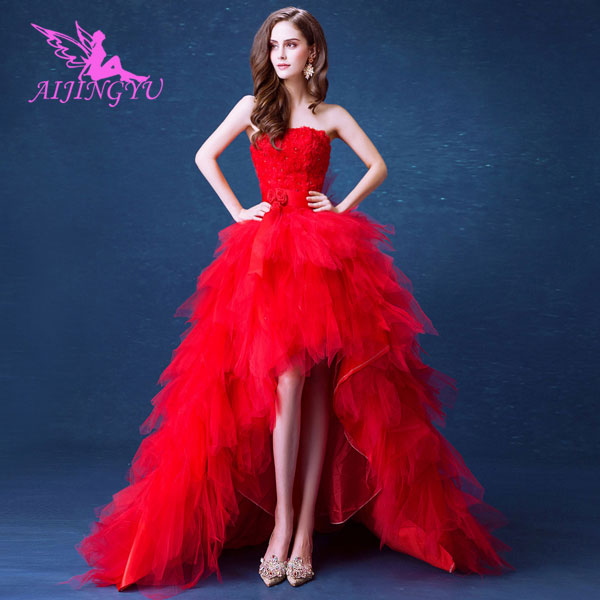 AIJINGYU 2018 bridal free shipping new hot selling cheap ball gown lace up back formal bride dresses wedding dress TJ157