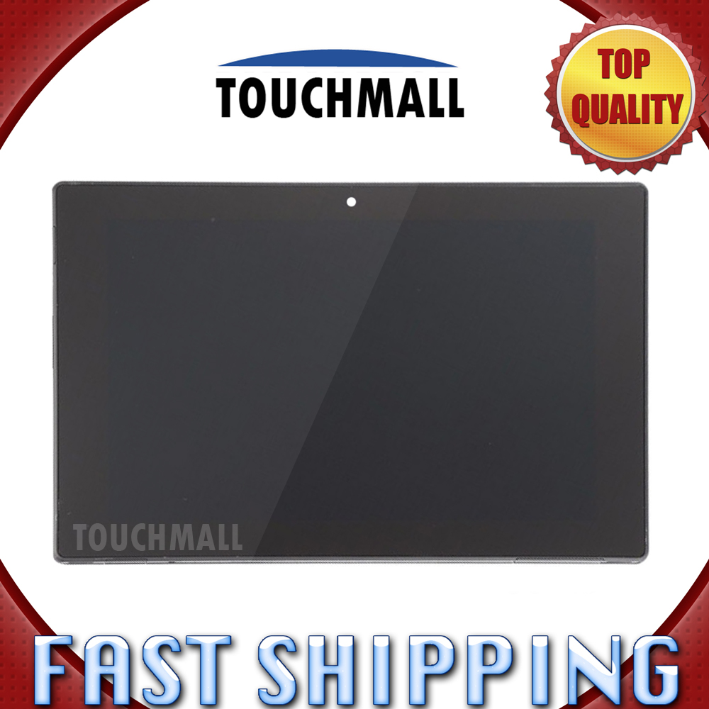 Подробнее о For Sony Xperia Tablet Z 10.1 SGP311 SGP312 SGP321 Replacement LCD Display Touch Screen with Frame Assembly 10.1-inch for Tablet lcd display touch screen white frame open tools for sony xperia z lt36i lt36h lt36 c6603 c6606 c6602 l36h replacement