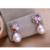 FENASY natural Cor pérola flor conjunto de jóias para as mulheres pérola define 925 prata esterlina jóias de casamento caixa de presente de aniversário da menina