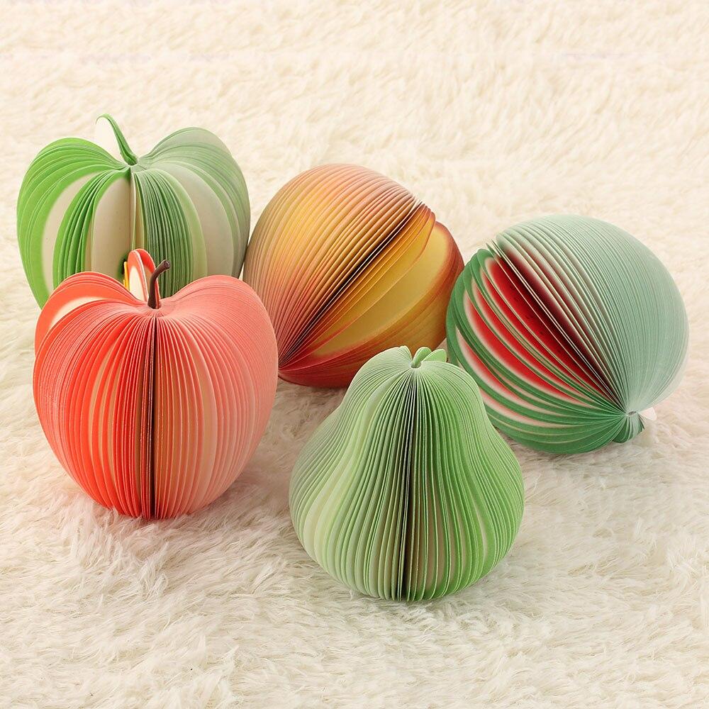 Fruit Sticker Pads - Watermelon/Peach/Pear/Apple