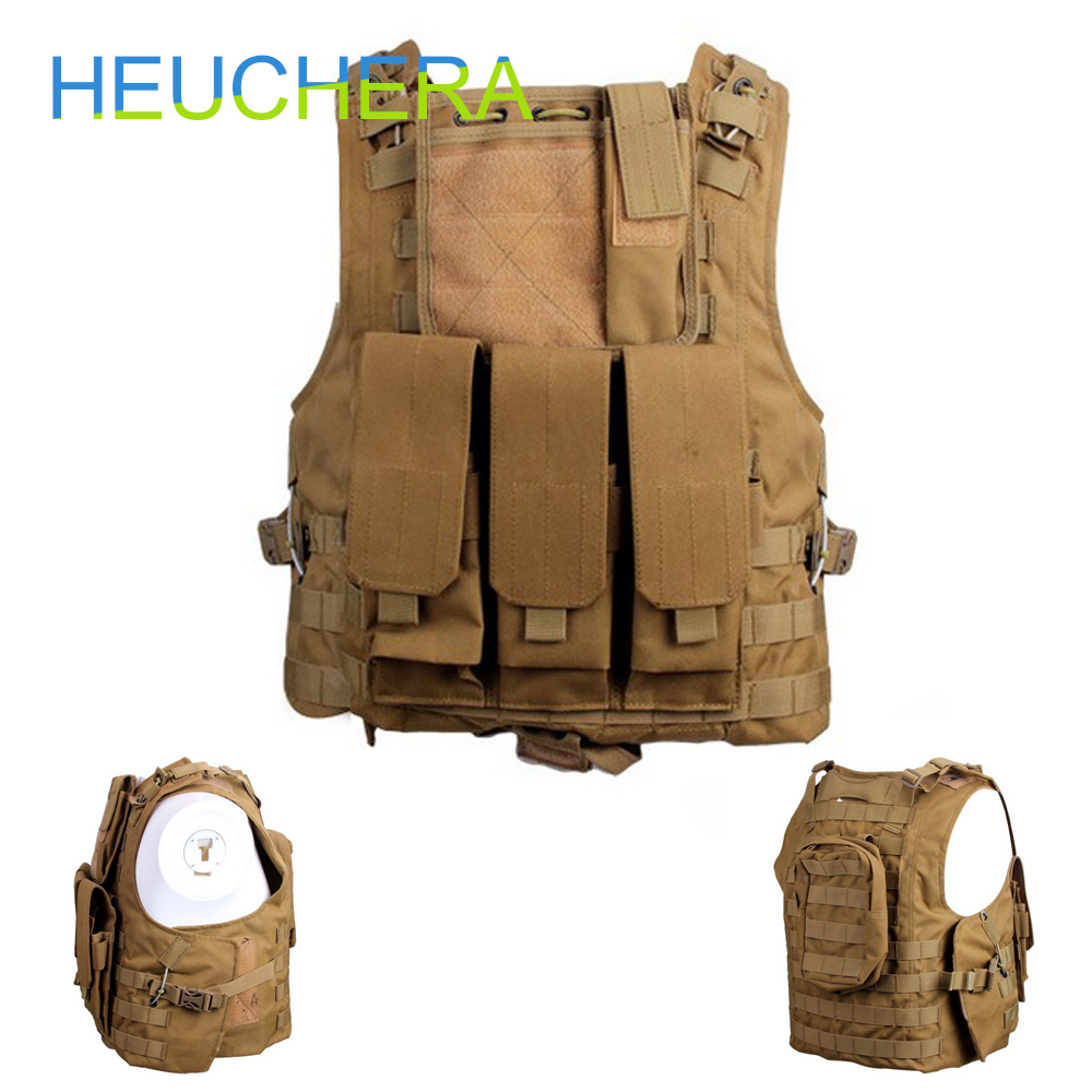 Multifunction CS Tactical Vest Military Adjustable Combat Assault Plate Carrier Hunting field Vest Outdoor Jungle Equipment