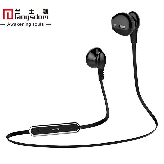Langsdom L5 Half in Ear Bluetooth Earphone Fashion Wireless Earphones Stereo Bluetooth 4.0 Headsets with Microphone for Phone
