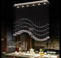 Современные хрустальные Потолочные Италия просто лампа для diningoom и спальня роскошный отель номера освещения Гарантировано 100% 9053 20100