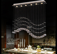 Modern crystal ceiling Italy simply lamp For diningoom and bedroom Luxury Hotel rooms lighting Guaranteed 100% 9053 20100