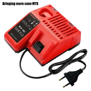 NEWEST M18 Li-ion Battery Charger For Milwaukee 14.4V 18V C18C C1418C 48-11-1815/1828/1840 M18 M14 Series Lithium-ion Battery(China)