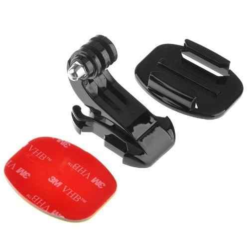 EastVita поверхность J-Hook Пряжка крепление адаптер держатель тело жгут шлем нагрудный ремень БЫСТРОРАЗЪЕМНАЯ база для GoPro Heros r22