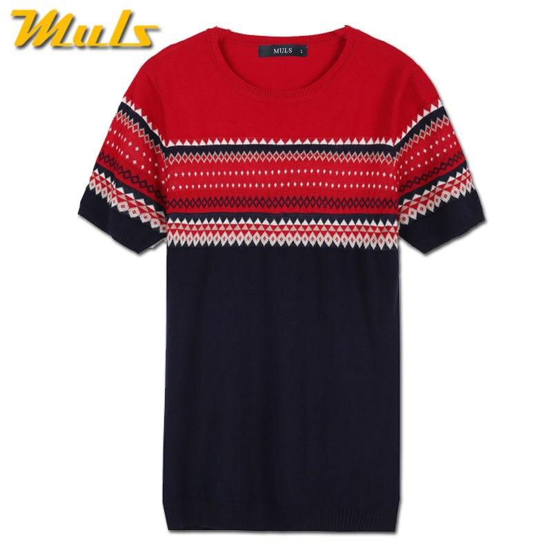 Mens T shirt court été chandail tricoté T shirt pour homme 2017 nouvelle  arrivée mâle Top T shirts de haute qualité de marque hommes clothing MS1756  dans ... ebc423de5efd