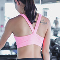 Newest women 2016 summer crop tops push up sexy bra with padded hollow out tank top fitness clothing vest sleeveless shirt