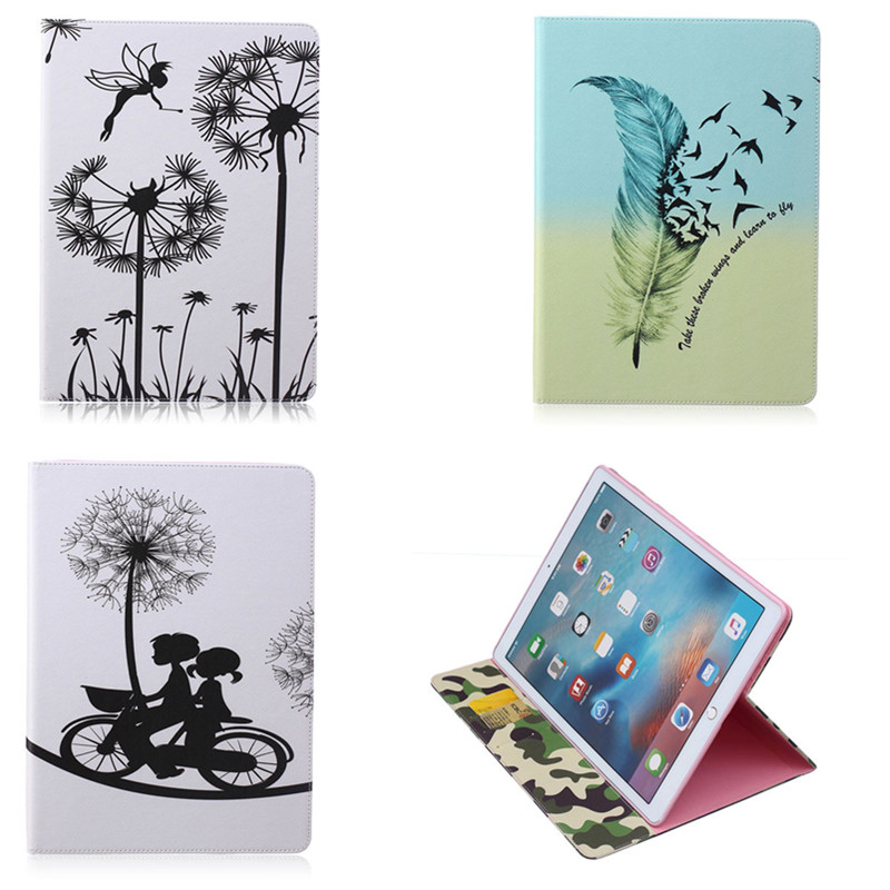 BF-PU Leather Cute Case Cover for Apple iPad pro 12.9 inch with stand function tablet Cases With Card Holder