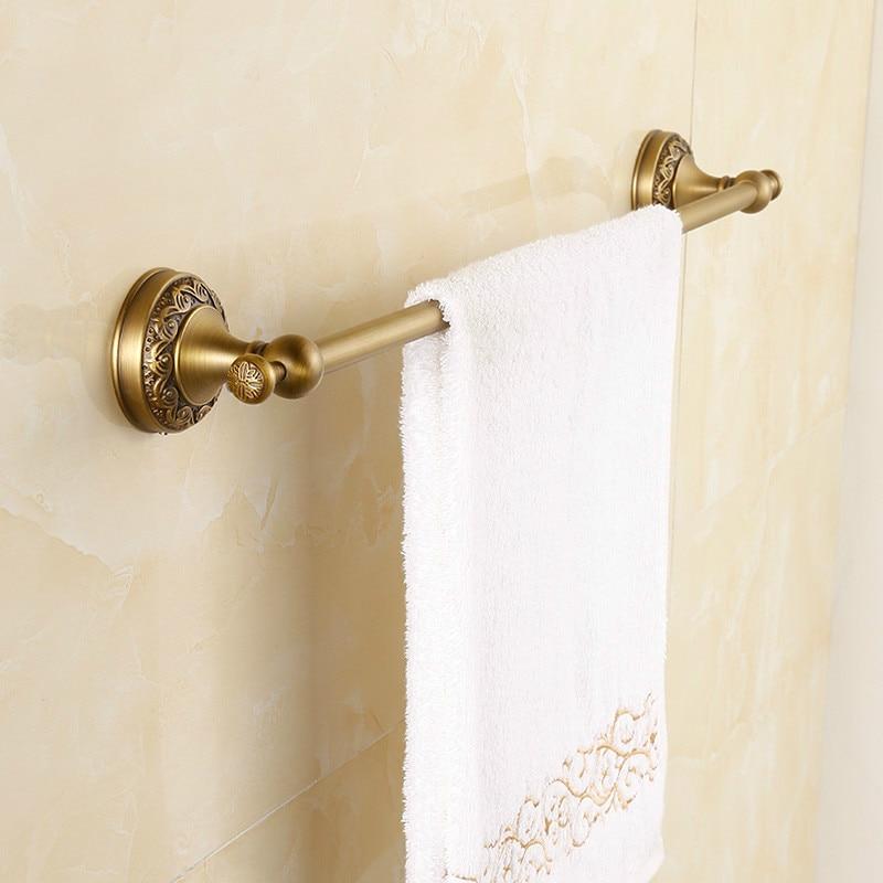 antique bronze brass carved bathroom accessories retro set home decor