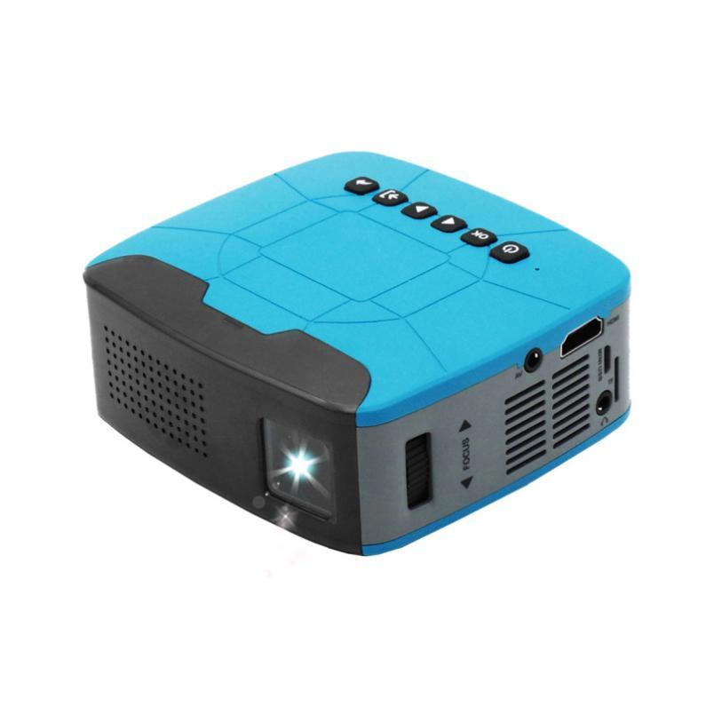 500 Lumen U20 universel 116 pouces Portable Mini projecteur LED pour la maison et le divertissement avec un Design de mise au point courte - 2