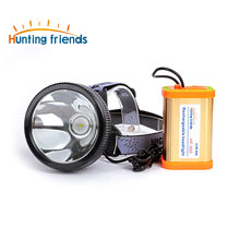 Hunting Friends Super Bright Headlight led camping lantern Rechargeable Flashlight T6 flashlight torch for Outdoor activities