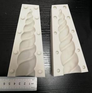 Image 2 - Cake Tool 6 inch 3D unicorn horn Silicone mold Mould  Wedding Chocolate tools fondant Cake Baking Icing Ice
