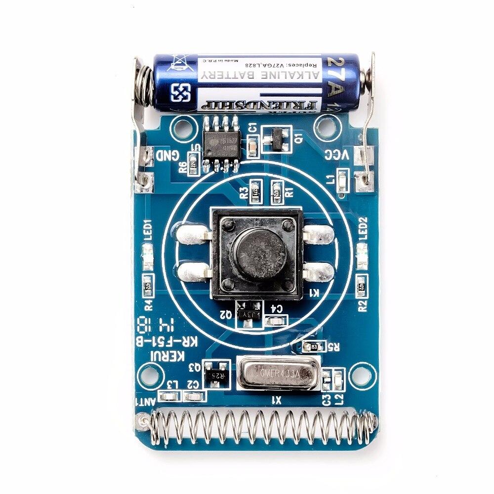 Купить с кэшбэком KERUI M656 Doorbell Cordless Bell Smart Wireless Receiver Call 433MHz Doorbell No Battery Home Gate Chime Alarm Security System