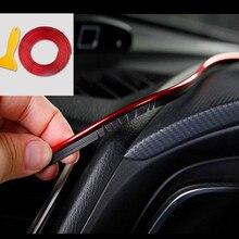 Moulage de décoration intérieure de voiture, 5M, pour Ford focus MK2 MK3 MK4 Kuga Fiesta Mondeo Ecosport, pour Chevrolet Cruze Malibu Aveo