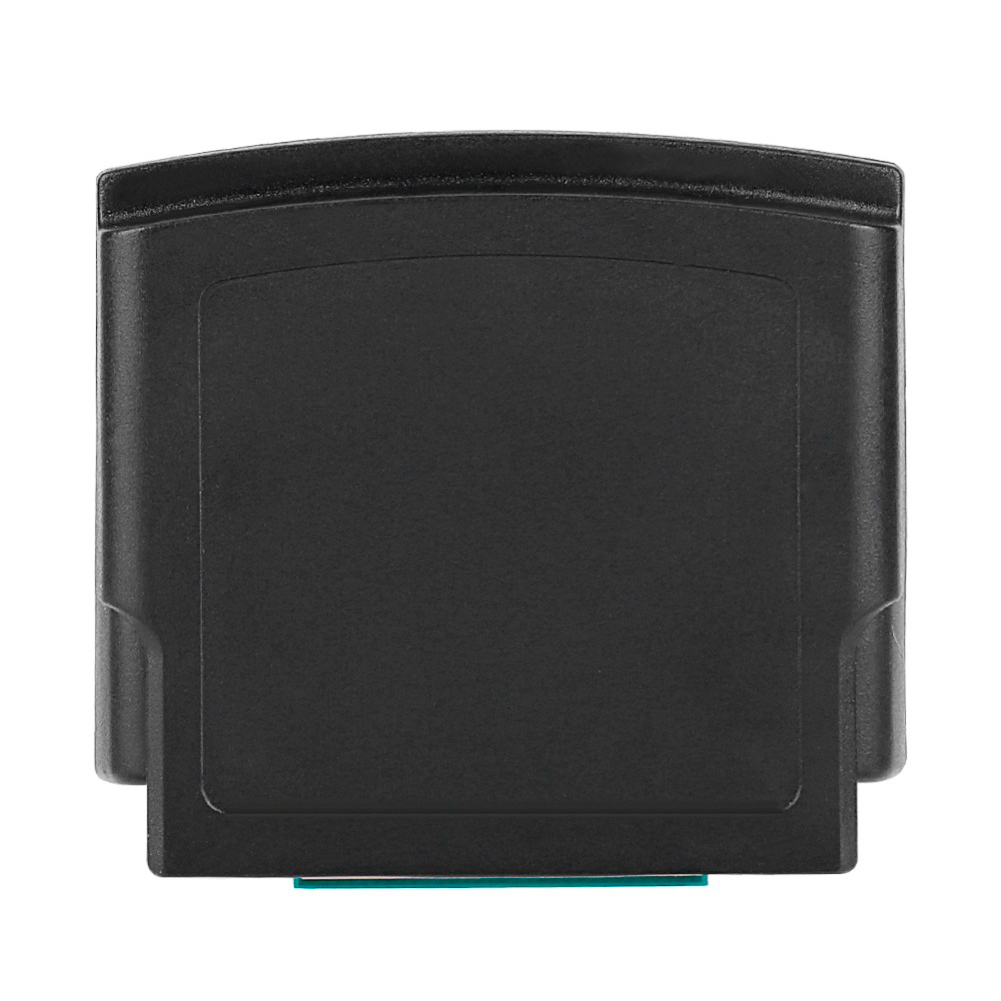 Pack Black Durable Jumper Pak Memory Card Adapter Conventer Replacement Expansion ABS Accessories For Nintendo N64 Game Console