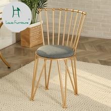 Луи Мода гостиная стул скандинавские творческая личность лаконичный современный золотой Досуг Ресторан Металл