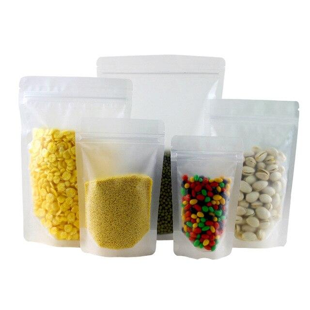 Excellent 100pcs Plastic self sealing bag,frosted transparent packaging bag  QZ11