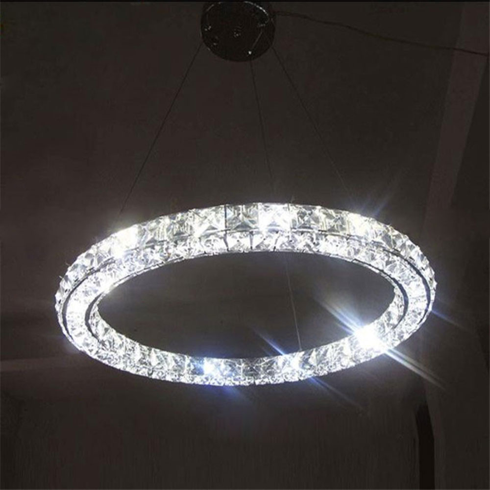 AC100 240V Modern Crystal LED Pendant Lights Fixture