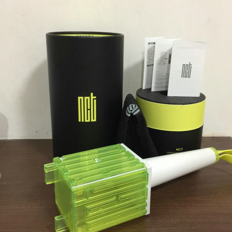 In stock LED NCT Kpop Official Stick Lamp Hiphop Lightstick 2018 New Music Concert Lamp fluorescent