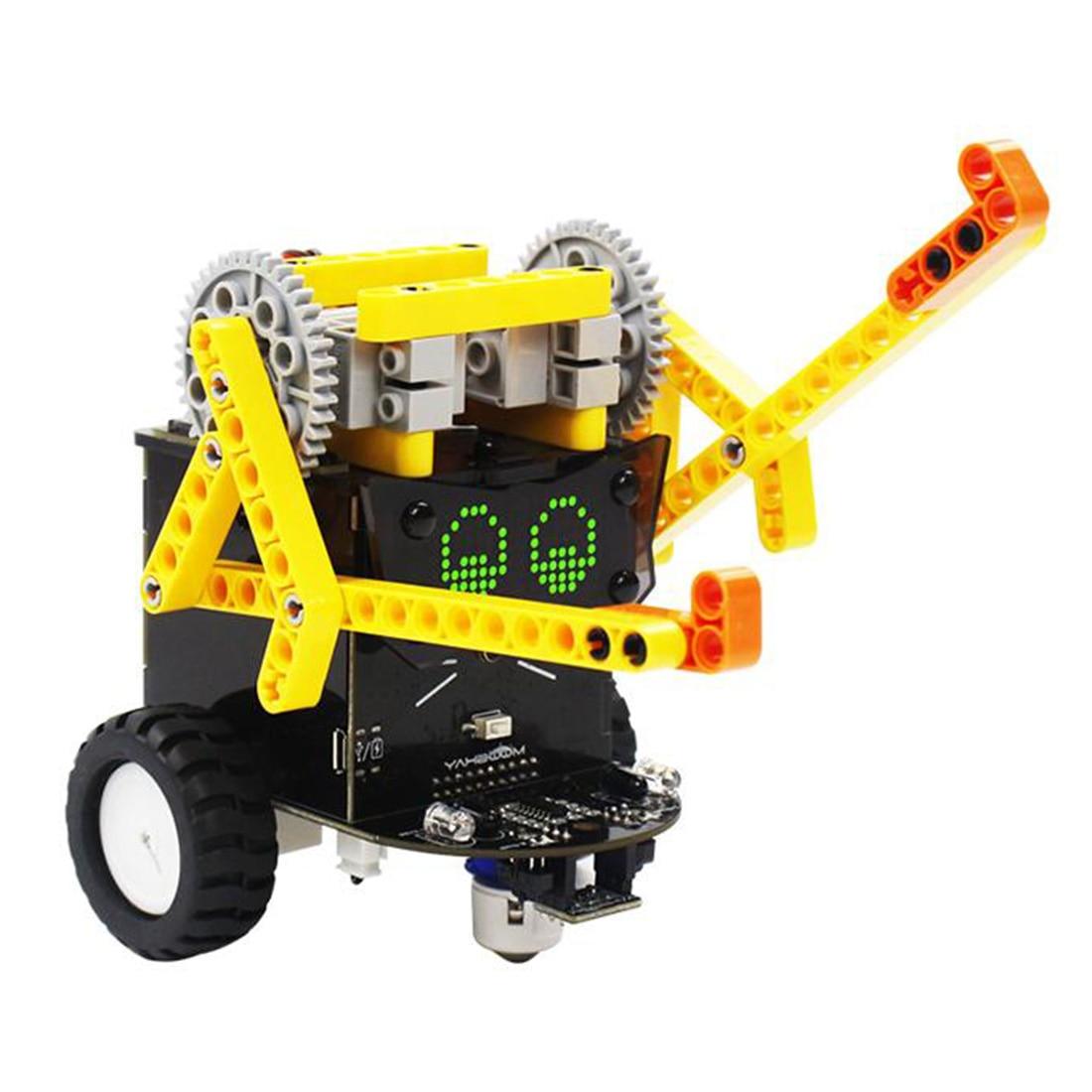 New Creative Fighting Version Omibox Scratch Programmable Robot Car Electronic DIY Stem Toy Gift Kit