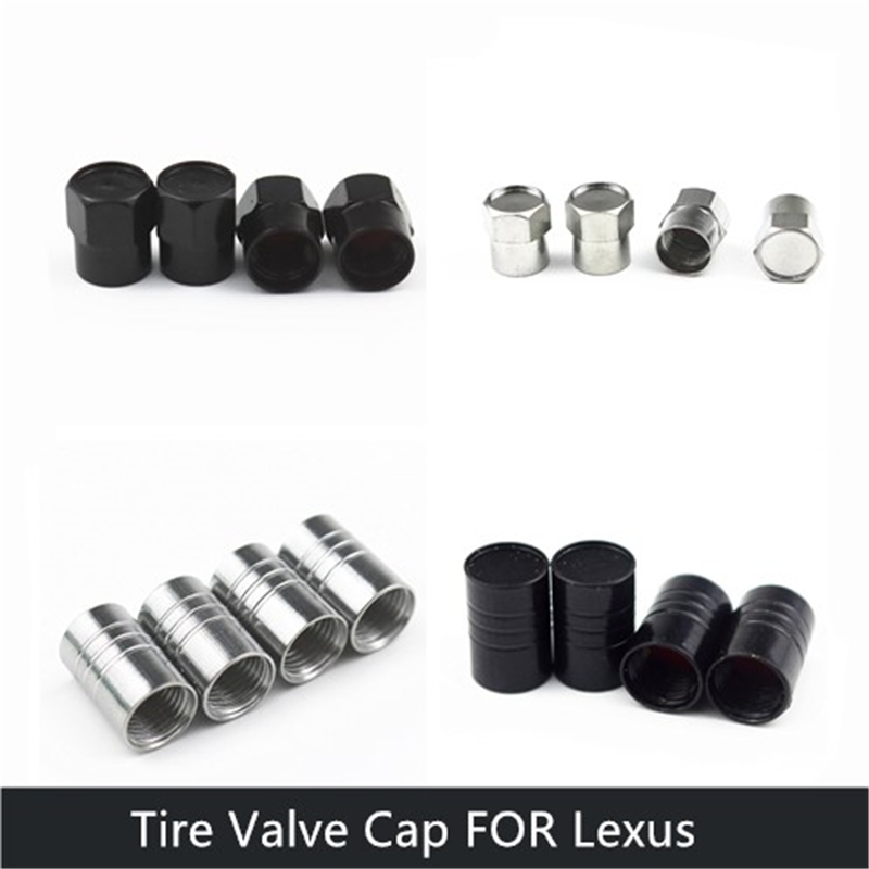 4 types Car Wheel Tire Valves Tyre Air Caps case for <font><b>LEXUS</b></font> RX300 <font><b>RX350</b></font> IS250 LX570 is200 car accessories Motorcycle Automobiles image