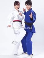 New Blue White Kimono Jiu Jitsu Gi Judo Uniform Standard Jiu Jitsu Judo Suit Training Suit