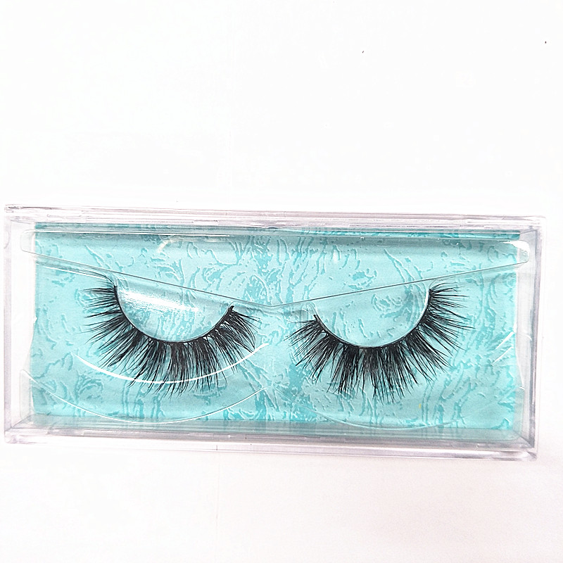 100 Pairs 3D Top Mink Eyelashes Extension Individual Private Label Lashes Customized Box