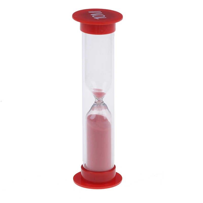 6 sztuk losowy kolor 30 s/1/3/5/10 minut pulpit zegarek dzieci GiftsCute kolorowe klepsydra zegary klepsydra klepsydra zestaw