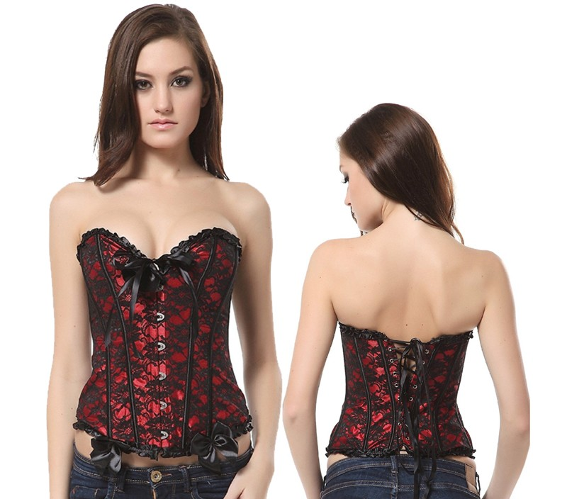 corsets and bustiers red