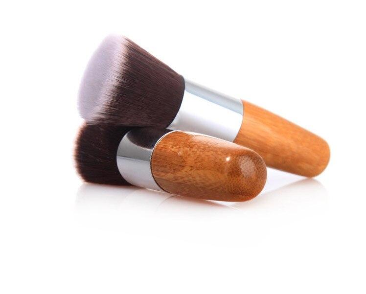 macio foudnation escovas de cabelo sintético para