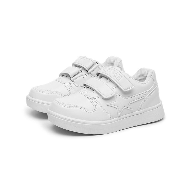 ChildrenS White Shoes Kids School Casual Sports Shoes Spring Girls Fashion Sneakers Boys Soft Bottom Non-Slip Shoes Sneakers