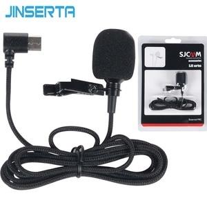 Image 1 - JINSERTA External Microphone MIC for SJCAM SJ8 Air PLUS PRO SJ7 STAR/SJ360/SJ6 Legend Camera SJCAM Camera Accessories