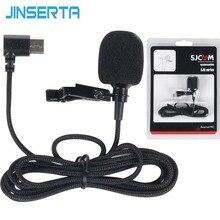 JINSERTA Externe Mikrofon MIC für SJCAM SJ8 Air PLUS PRO SJ7 STERN/SJ360/SJ6 Legende Kamera SJCAM Kamera zubehör