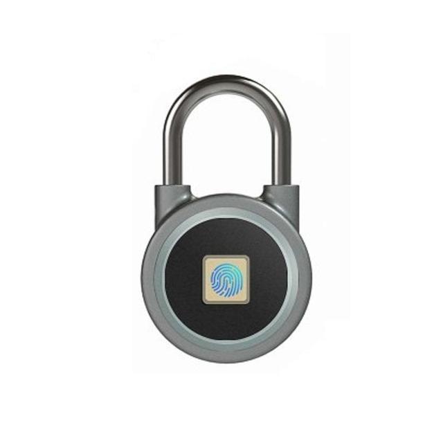 wdskivi Z1 Keyless Mini Fingerprint Lock Bluetooth Lock Electronic lock Waterproof Unlock Padlock Door Lock For Mobile Phone App