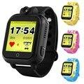 Vwar Q75 GW1000 3G WCDMA Câmera Remota Localização LBS GPS WI-FI crianças gps smart watch 720 p 1.54 tela sensível ao toque inteligente sos rastreador