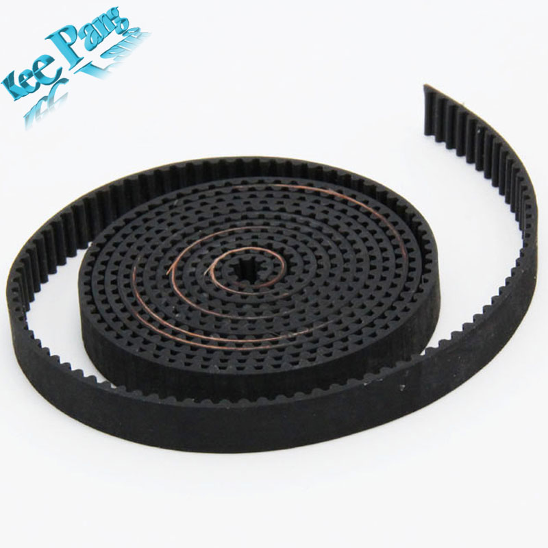 1pc 5 meters GT2 Timing Belt Width 10mm Synchronous Belt Opening Teeth Belt For 3D Printer Reprap Prusa i3 hictop 5 meters gt2 timing belt for reprap 3d printer prusa i3