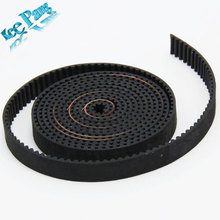 2meter GT2 timing belt width 6mm for 3d printer 2GT printer belt Free shipping!!!