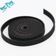 5meters 2GT GT2 Timing Belt Width 10mm Synchronous Belt Opening Teeth Belt